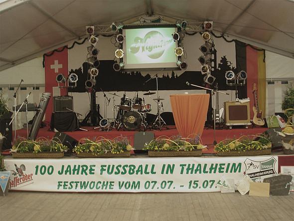 Auftakt 00 Jahre Fussball in Thalheim