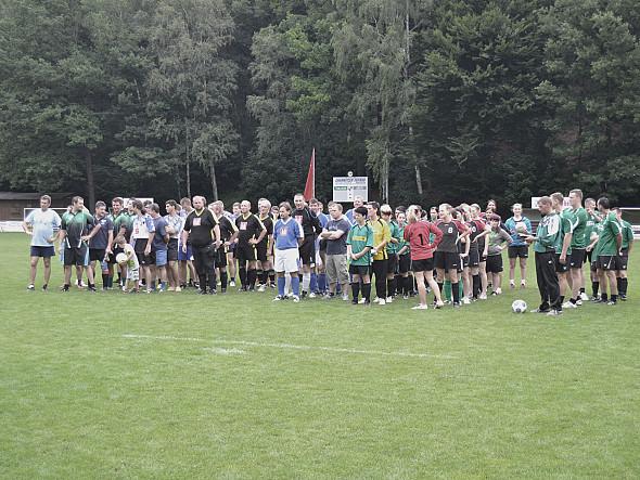 Vereinsinternes Turnier 100 Jahre Fussball in Thalheim