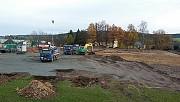 Kunstrasenprojekt: 4.November - Das halbe Planum ist geschafft!