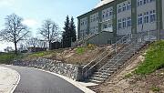 24.04.17: Neue Treppengeländer