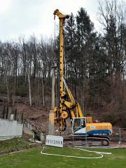 Hochwasserschutz im Bereich Waldstadion geht voran !