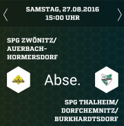 Vorschau aufs Wochenende Jugend - 2. Spieltag