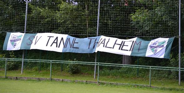 SV Tanne Thalheim Abtl. Fussball sagt DANKE